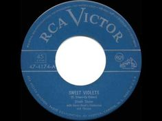 ▶ 1951 HITS ARCHIVE: Sweet Violets - Dinah Shore - YouTube