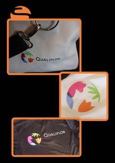 Uw sportkleding laten bedrukken? Bij Screen Promotion is dat geen probleem! Zo hebben we voor Qualiflor de shirts, broekjes en een mooie tas voorzien van hun logo!