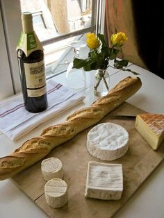 paris foods. I loved how you could get amazing bread and cheese almost anywhere.