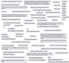 This Man's Compilation of His Wife's Texts Is a Beautiful Work of Art