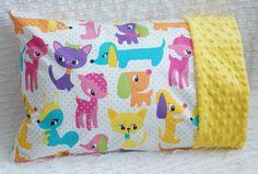 Toddler or Travel Size Pillowcase  Michael by GrandmasChalkboard, $15.00