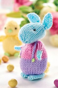 Amanda Berry's Easter Bunny, free pattern