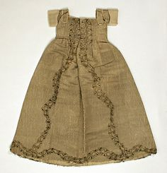 Christening Ensemble    Date:      ca. 1710  Culture:      British  Medium:      silk, silver