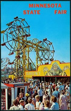 Midway Scene, Minnesota State Fair, 1965, Minnesota Historical Society (technically in St. Paul, but it's still the Twin Cities)