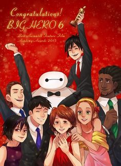 BH6 won the Oscar for Best Animated Feature Film.
