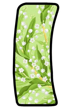 Alphabet, Sailor Mars, Lily Of The Valley, Bubbles, Monogram, Board, Flowers, Floral Letters, Colorful Flowers