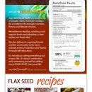 Flaxseed Infographic