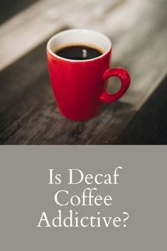 Decaf coffee can be a fantastic alternative for anyone trying to cut back on their caffeine intake. I decided to make the switch once I realized how hooked I was on my daily coffee. Although, I always wondered if decaf coffee was addictive as well. The last thing I want is to switch one habit for another. After doing some research, I put together this article with all the answers. #coffee Coffee Cream, Coffee Type, Black Coffee, Coffee Canister, Coffee Spoon, Coffee Cans, Types Of Coffee Beans, Different Types Of Coffee, Acquired Taste