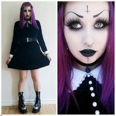 #Vampirefreaks #Goth girl Cajsa Kurayami