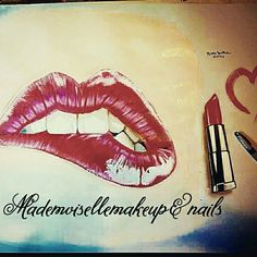 #angy #mademoisellemakeupnails #love #makeup #redpassion