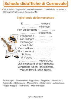 Schede-Didattiche-Carnevale-Scuola-Primaria-6.png (2480×3508)