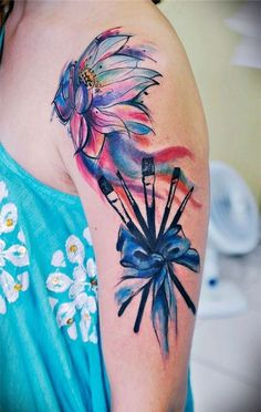 50 Gorgeous Flower Tattoo Designs For Women You Must See - EcstasyCoffee