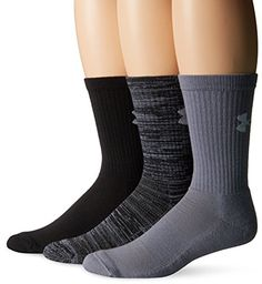Under Armour Men's Twisted Crew Socks, Black/Assorted, Me... http://www.amazon.com/dp/B013P2HPES/ref=cm_sw_r_pi_dp_517hxb13HP40M