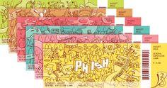 Phish summer tour design by Brosmind