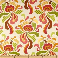 Coral Paisley with coral minky - Baby Girl Infant car seat cover Kitchen Table Redo, Splat Mat, Sewing Crafts, Sewing Projects, Laminated Cotton Fabric, Heather Bailey, Art Mat, Plastic Tablecloth, Outdoor Parties