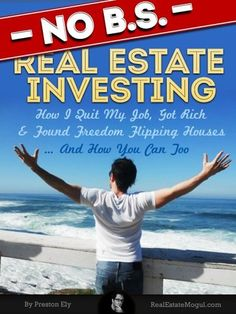, , Financializer Store: Book: No Bs Real Estate Investing - How I Quit My Job, Got Rich, & Found Freedom Flipping Houses . Real Estate Investing Books, Real Estate Book, Business And Finance Books, I Quit My Job, Real Estate Investor, How To Get Rich, Going To Work, Books To Read, Freedom