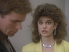 Teri Hatcher  Richard Dean Anderson as Penny Parker  MacGyver.  Penny is a blonde in disguise...