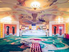 Orinda Theatre Lobby, Orinda, California. Franck Bohbot Portfolio.