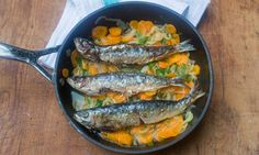 Sardines escabeche  http://www.guardian.co.uk/lifeandstyle/wordofmouth/2013/feb/27/ten-great-mediterranean-recipes