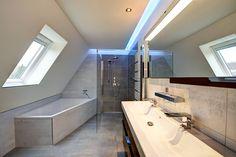Farbspiel: ausgefallene Badezimmer von Innenarchitektin Katrin Reinhold