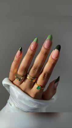 Edgy Nails, Chic Nails, Stylish Nails, Swag Nails, Nail Design Glitter, Nail Design Spring, Gel Nails, Nail Polish, Best Acrylic Nails