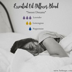 """""""Sweet Dreams"""" Essential Oil Diffuser Blend, brought to you by Herbesque."""