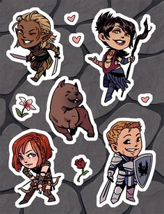 The product Dragon Age Origins Sticker Sheet is sold by elefluff shop in our Tictail store.  Tictail lets you create a beautiful online store for free - tictail.com
