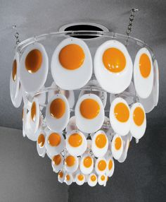 egg | joseph cavalieri ( USA) , flipping the bird chandelier, fused glass, acrylic. | bullseye glass.co.