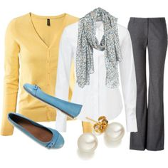 Teacher outfits and looks. Work Fashion, Fashion Looks, Curvy Fashion, Fashion Clothes, Fashion Tips, Fashion Trends, Cool Outfits, Casual Outfits, Teaching Outfits