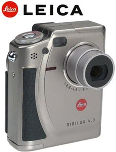 Leica Digilux 4.3 2.4MP Point And Shoot Digital Cameras