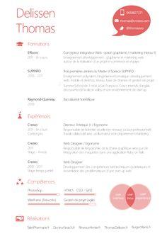 cv graphique dun futur ui designer - Ux Designer Resume