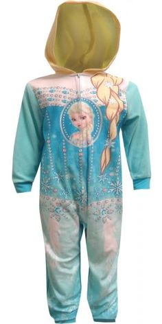 Disney Frozen Elsa Hooded Onesie Pajama