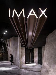 GUANGZHOU JINYI CINEMAS in Guangzhou, China designed by One Plus Partnership Limited. *Another name: Meteor Cinema