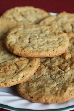 A nice change of pace from the usual peanut butter cookie. My husband never liked peanut butter cookies until I made him this recipe. Chewy Sugar Cookie Recipe, Homemade Cookies, Peanut Butter Cookies, Yummy Cookies, Baking Recipes, Cookie Recipes, Dessert Recipes, Yummy Recipes, Sweet Peanuts
