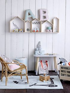 The LuxPad | Childrens bedrooms, inspiration, Style After Nine, blogging, top tips, interior , pastel home accessories, fabric lettersImage courtesy of Bloomingville