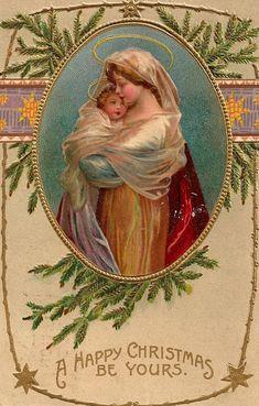 Vintage Christmas Postcard...