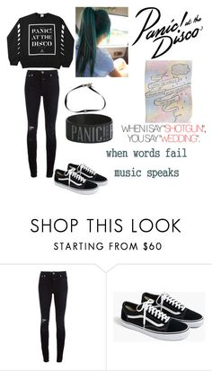 """""""In the Vegas lights where villains spend the weekend"""" by monkeyloverlife ❤ liked on Polyvore featuring Closed, J.Crew and Hot Topic"""