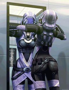 PANDAmonium — geekearth: Tali Exposed -Mass Effect