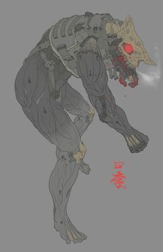 Rhino human by obokhan on DeviantArt Character Creation, Character Concept, Character Art, Monster Concept Art, Robot Concept Art, Science Fiction, Monster Boy, Cyberpunk Art, Sci Fi Characters