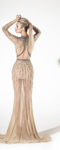 Charbel Zoé Printemps-été 2016 - Haute couture - http://fr.orientpalms.com/Charbel-Zoe-6189