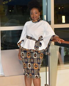 African American Fashion – Blazer and Skirt – Best Puzzles, Games, Ideas & Short African Dresses, African Fashion Designers, Latest African Fashion Dresses, African Print Dresses, Ankara Dress Styles, Ankara Fashion, Ankara Skirt, Blouse Styles, Ankara Styles For Women