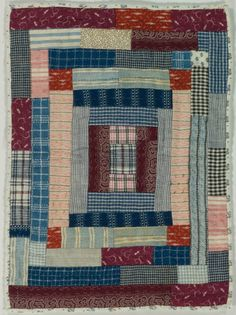 Mary Ghormley 1994 - doesn't get much easier. Old Quilts, Strip Quilts, Antique Quilts, Scrappy Quilts, Small Quilts, Easy Quilts, Mini Quilts, Vintage Quilts, Quilt Blocks