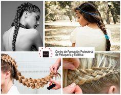 ¿Tienes una celebración a la vista y no sabes qué hacerte en el #pelo ? ✨✨ Te proponemos estos 5 #peinados con #trenzas : fáciles, cómodos y...¡a la última!   #peluquería y #estilismo #estética #cabello #style #hairstyle #hairideas #fashion #recogido #braids #recogidos #bóxerbraids #fishtailbraid #hair #hairdo #moodboard #moda #braidhair