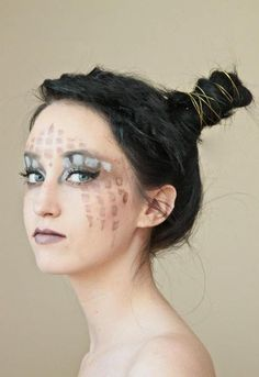 Tribal Makeup/hair