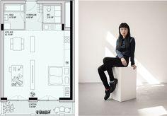 Atelierhaus - Gastgebgasse 23, 1230 Wien Floor Plans, Studio Apt, Old Men, Floor Plan Drawing, House Floor Plans