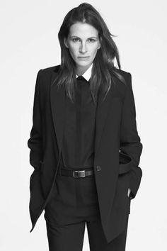 Julia Roberts (1967) - American actress and producer. Photo by Mert & Marcus for Givenchy, 2014