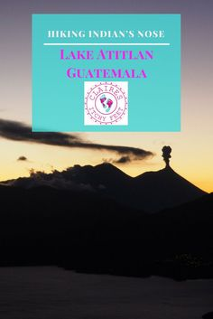 Looking for activities to do in Guatemala? If you are planning a trip to Guatemala and thinking of going to the Lake Atitlan area, you need to think about hiking Indian's Nose. If you are planning on going to Guatemala and not taking a trip to Lake Atitlan, change your plans! Having spent time in a few different places in Guatemala now I can honestly say nowhere is beautiful as the Lago de Atitlan.