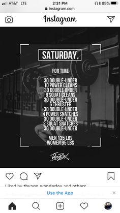 Crossfit Workout Program, Wods Crossfit, Crossfit Workouts At Home, Wod Workout, Workout Days, Workout Programs, Home Gym Garage, Diy Home Gym, Workout Room Home