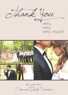 Wedding Thank You Cards,