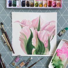 Тюльпан . . . . . . #акварель #watercolor #waterblog #drawing #aquarelle #art_spotlight #art_we_inspire #art_gallery #artwork #global_artist #inspiring_watercolors #artistic_exposure_ #cartel_watercolorists #artistic_nation #hudgrafblog #artist #peony #peonyflower #flowerswatercolor #surelysimple #невскаяпалитра #художественныематериалы @made.of.colors #artstudio_post #тюльпан #tulipflower #tulips #картинавподарок #подарокмаме